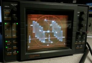 Videotek TVM-675 after completion of restoration work.